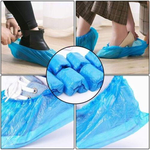 100Pcs Disposable Anti Boot Shoe Covers Overshoes