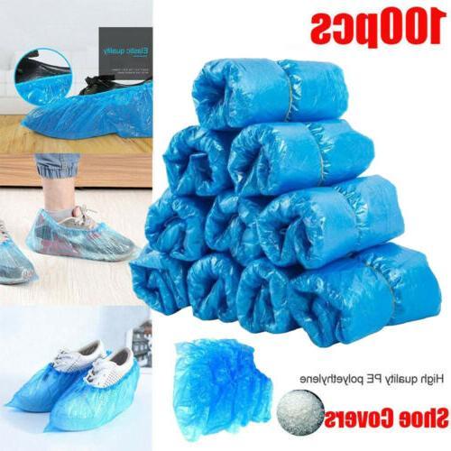 100pcs disposable anti slip boot shoe covers