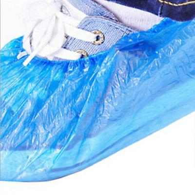 100Pcs Disposable Plastic Overshoes