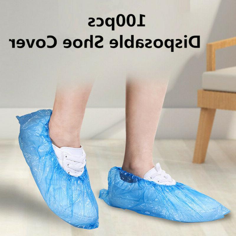 100Pcs Disposable Plastic Covers Dustproof US