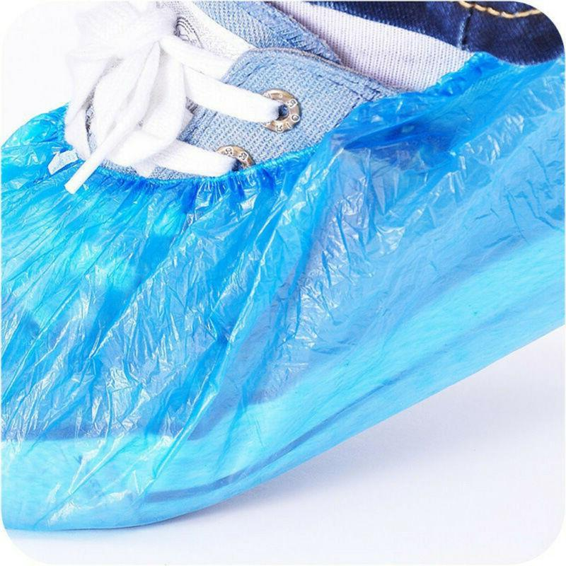 100Pcs Disposable Shoe Covers Boots Indoor Overshoes