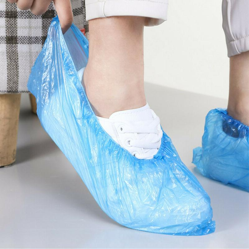 100pcs disposable shoe covers boots cover indoor