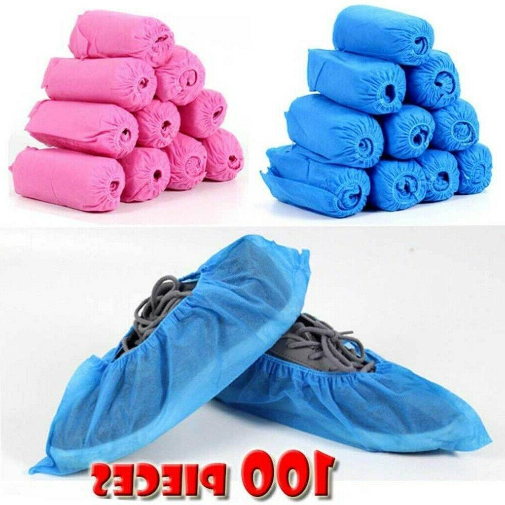 100pcs Shoe Non-woven Fabrics Boot Non-Slip Covers USA