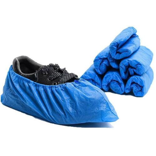 100pcs plastic disposable shoe covers boot cover
