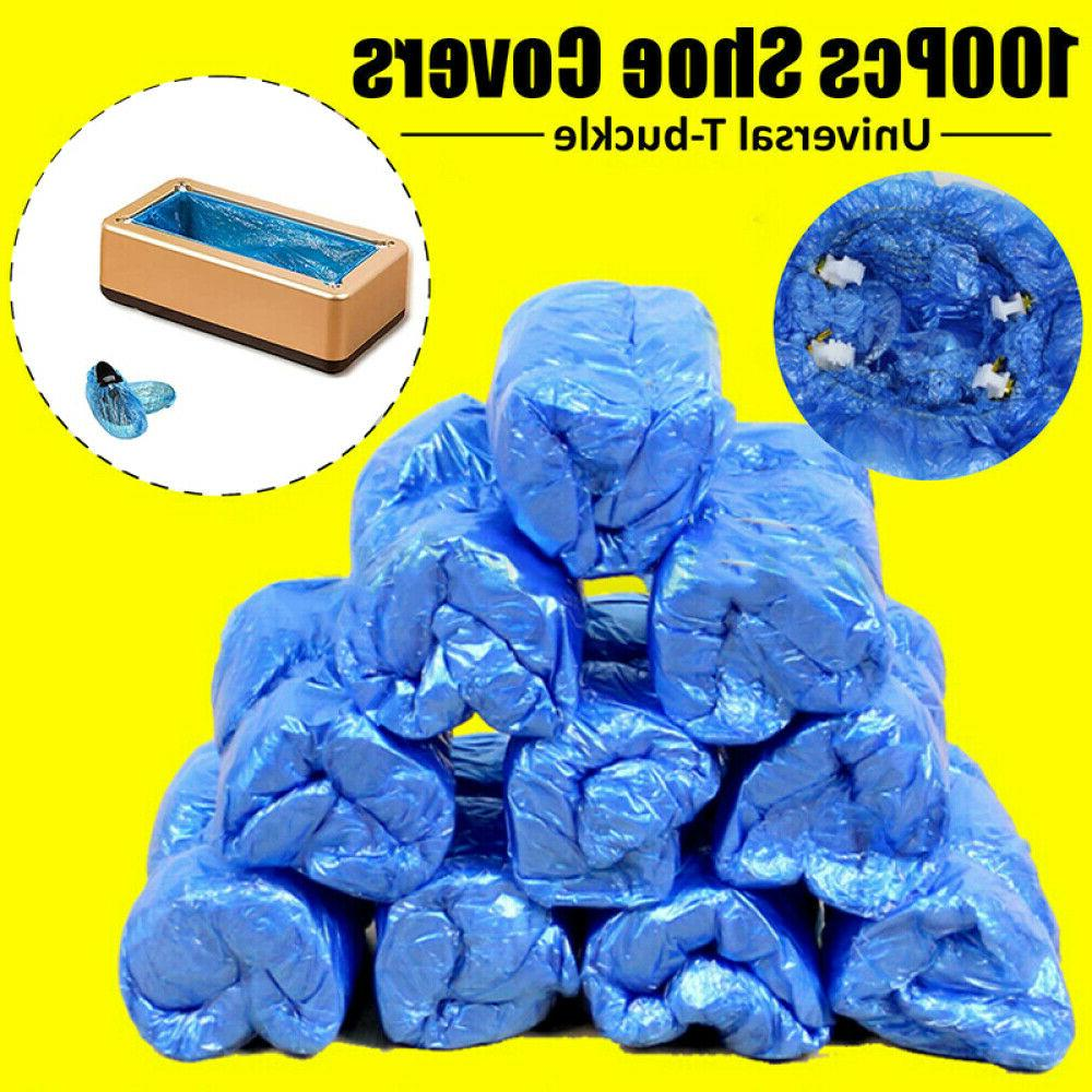100X Disposable Covers T Buckle for Shoe