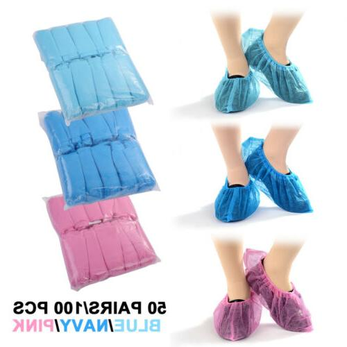 100X Disposable Covers Dustproof Foot Covers