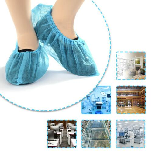 100X Disposable Dustproof Slip Non-woven Foot Covers