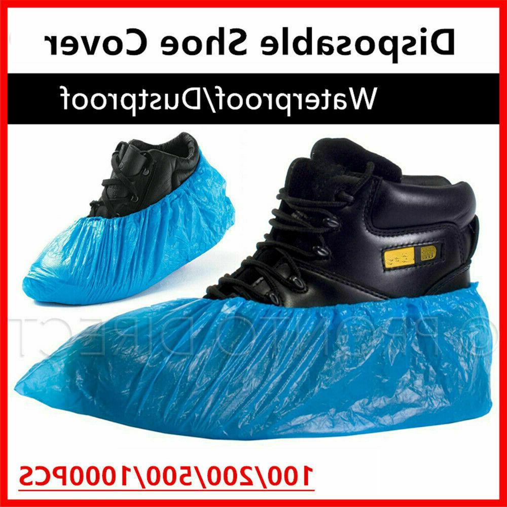 100x Waterproof Boot Covers USA