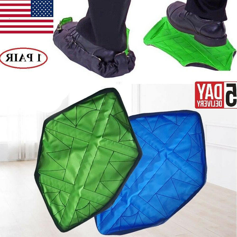 1pair hands free shoe cover non slip