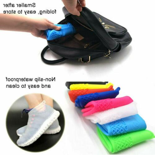 Rain Waterproof Boot Recyclable Silicone Overshoes