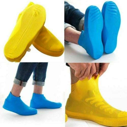 Rain Waterproof Shoe Covers Boot Silicone Overshoes