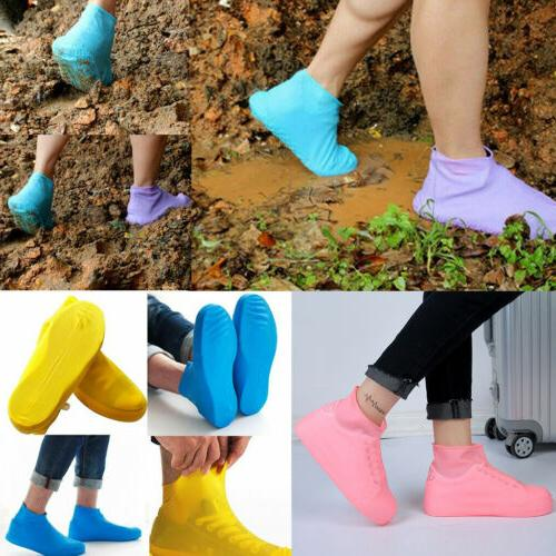 Rain Waterproof Shoe Covers Boot Cover Protector Recyclable