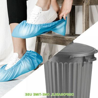 2/10/50/100 PCS Disposable Shoe Covers Dustproof Protector