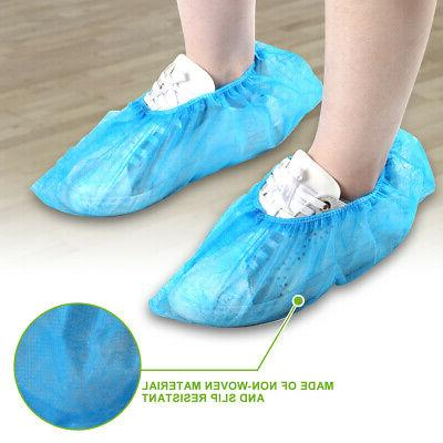 2/10/50/100 PCS Shoe Covers Fabric Overshoes Dustproof Protector