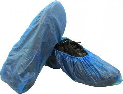 disposable polypropylene blue shoe covers 16 shield