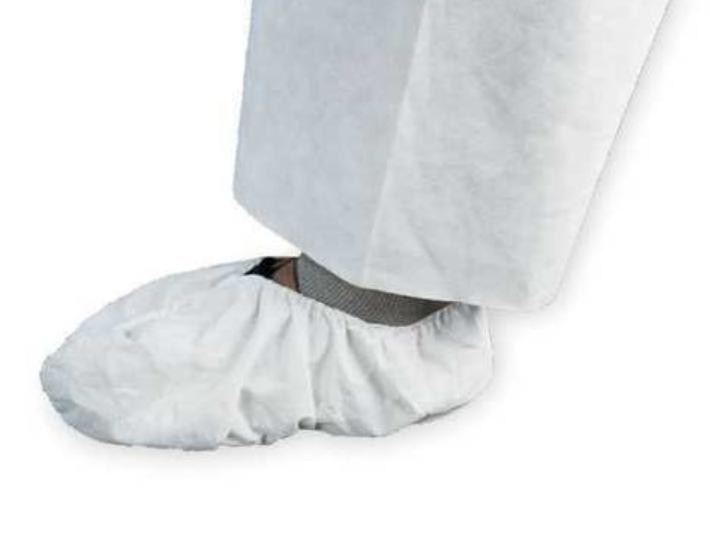400 ct 44492 white shoe covers size