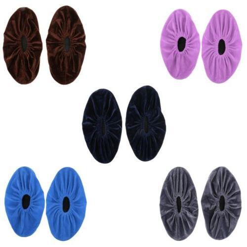 5 pairs mixed colors non slip shoe