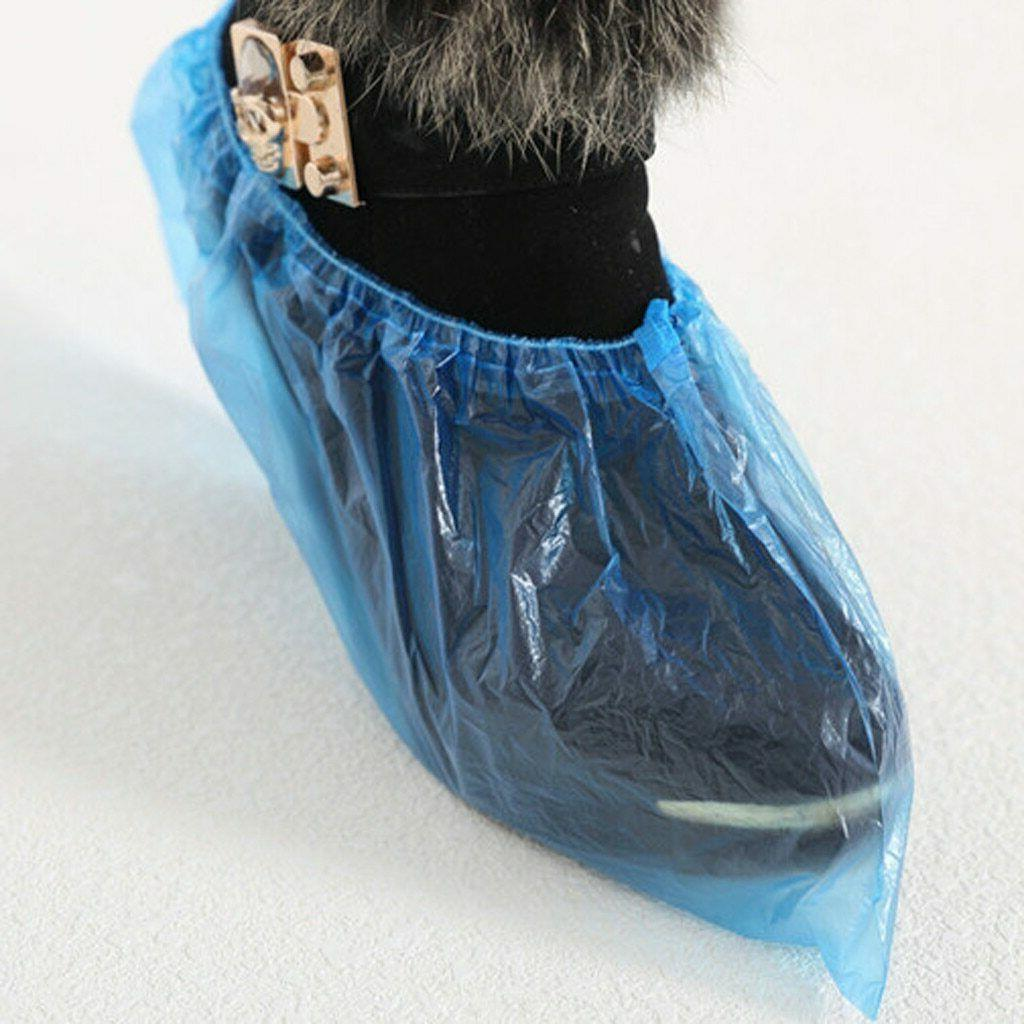 500 packs disposable shoe covers hygienic boot