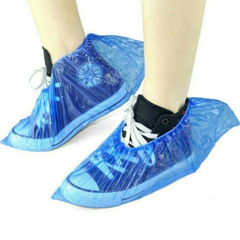 500PC/250 Shoe Covers Disposable Overshoe Protector