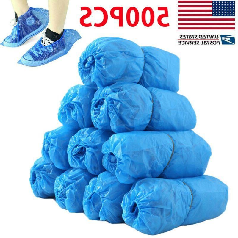 500pc 250 pair waterproof boot shoe covers