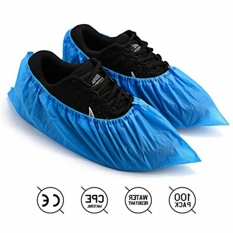 50pcs disposable shoe covers non skid medical