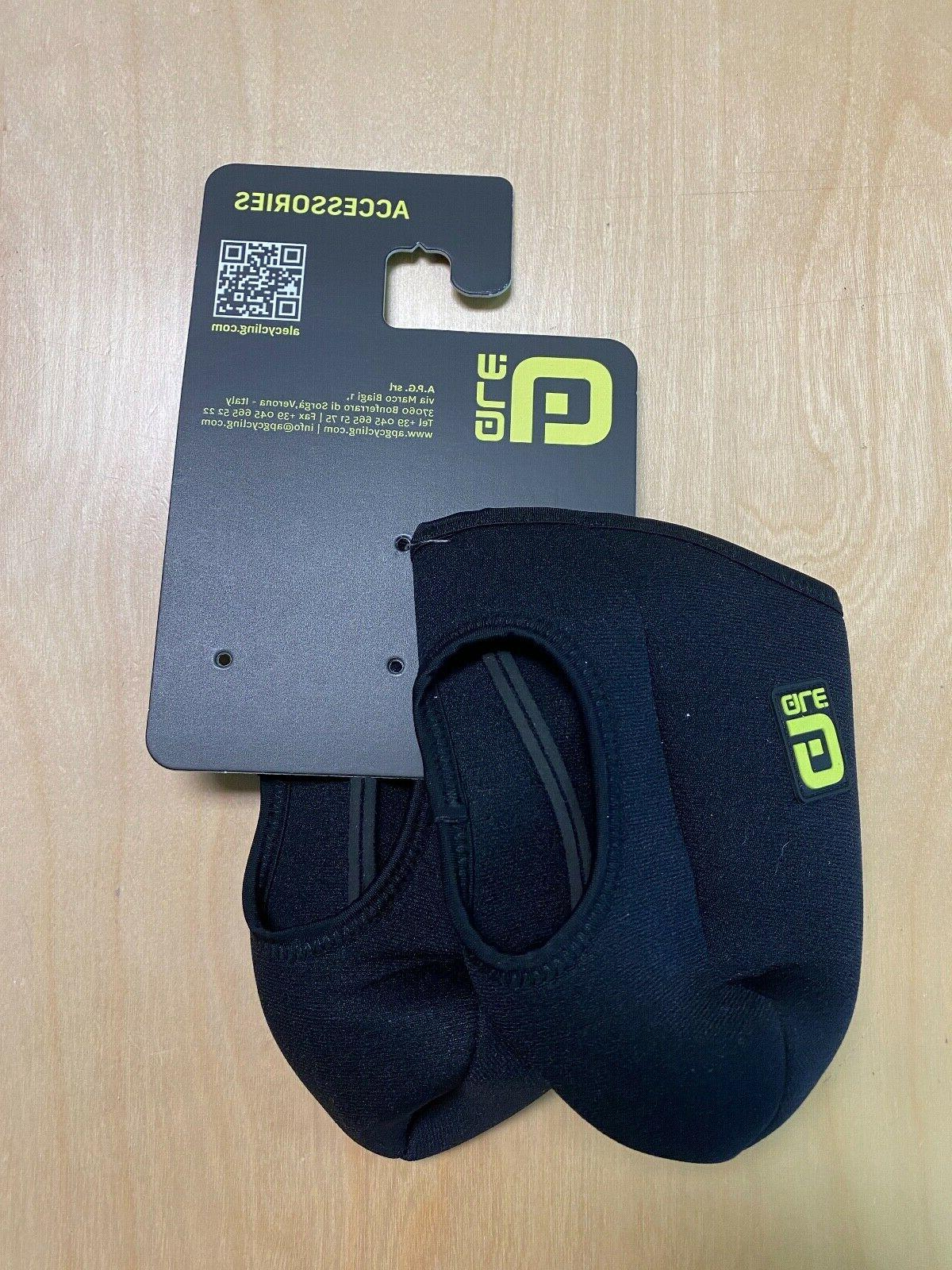 ale cycling toe covers black large