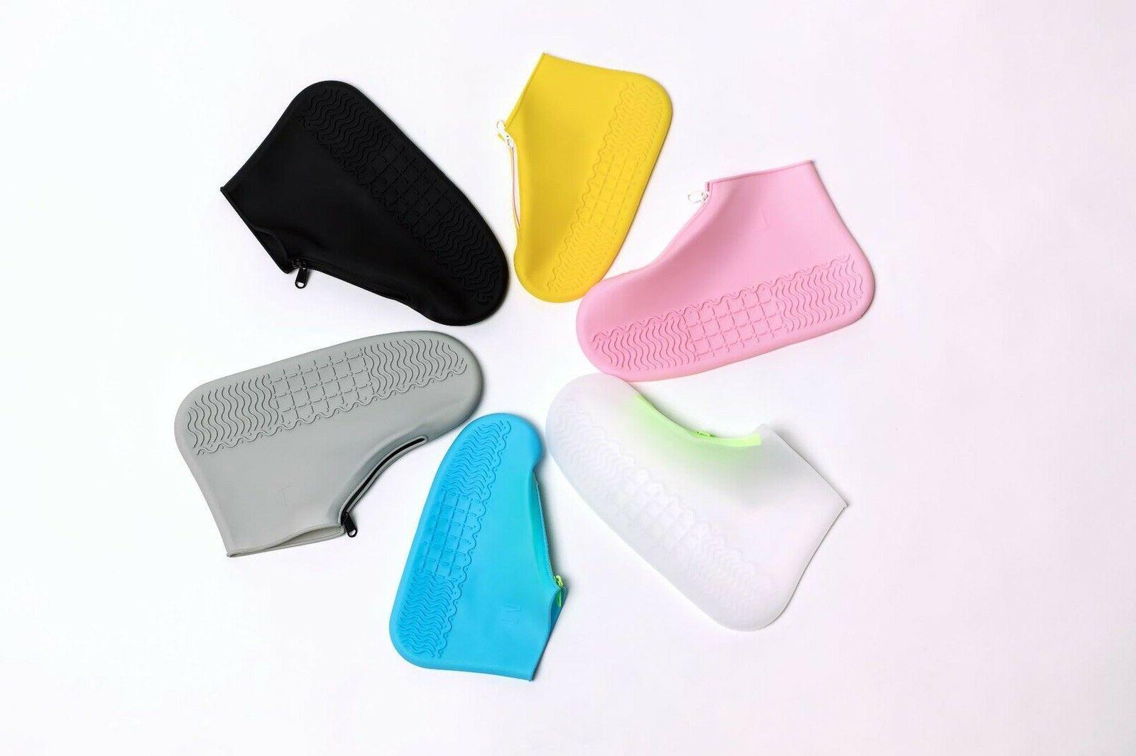 Anti-slip Silicone Rain Shoe Waterproof Cover Protector