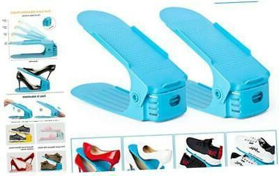 aquapro shoe slots organizer adjustable shoe stacker