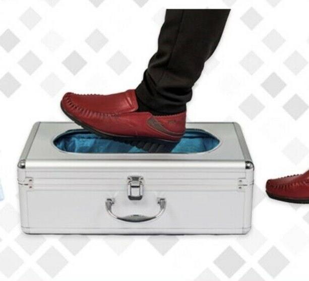 automatic shoe cover dispenser with 30 disposable