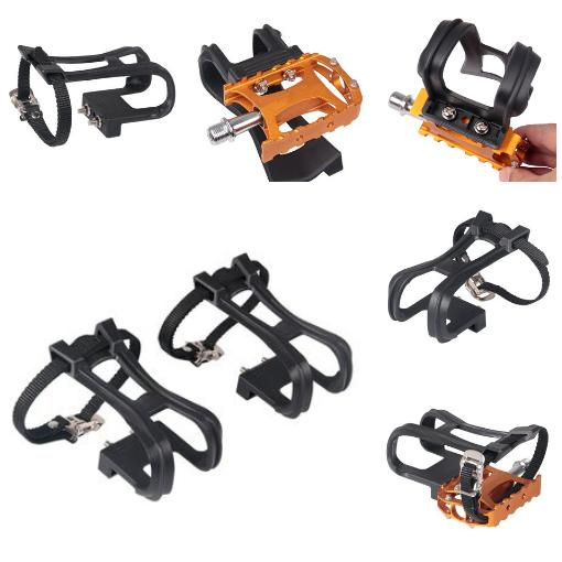 bicycle pedal shoe harness 1 pair cycling