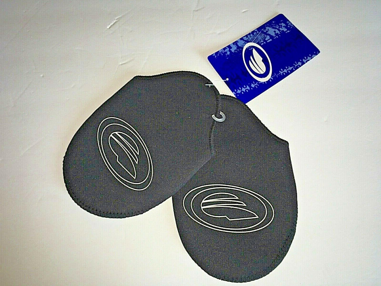 bicycle shoe toe covers black medium