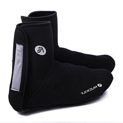 Black Autumn/Winter Bike High-top Riding Shoe Waterproof Comfort