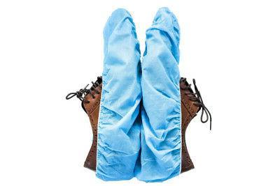 blue polypropylene non skid anti static shoe