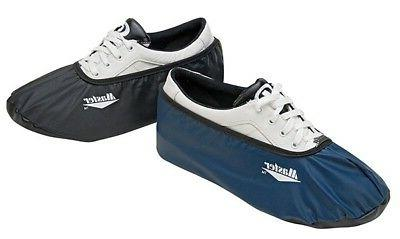 bowling shoe covers navy size medium