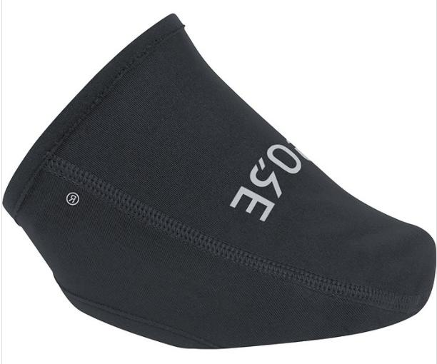 c3 windstopper cycling shoe toe cover black