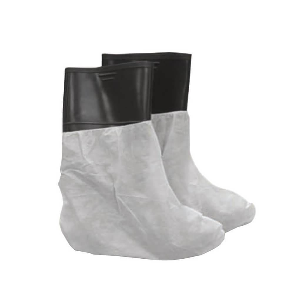 chlorinated polyethylene work boot covers 25 pack