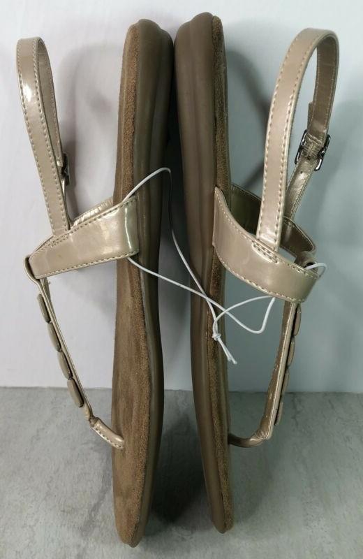 Aerosoles Champaign Beaded Strap Sandals Shoes Sz. 8