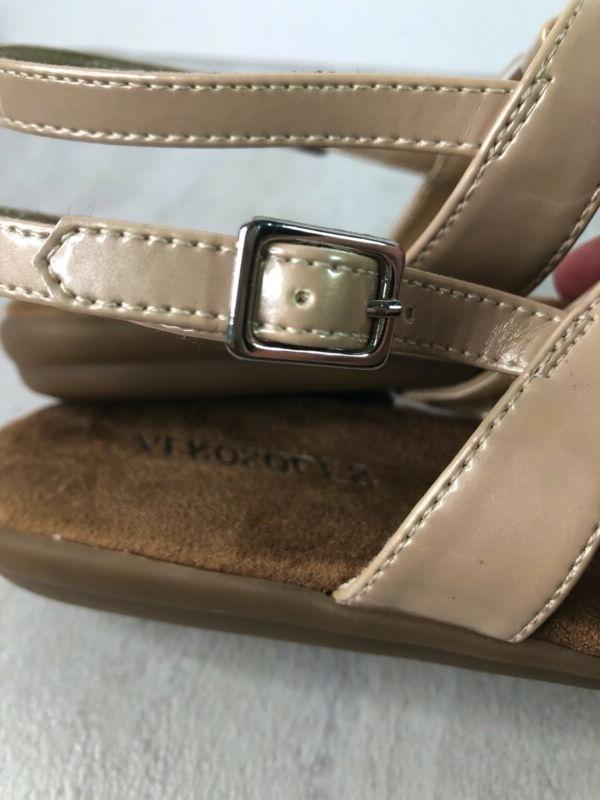 Aerosoles Cover Champaign Thong T Strap Sandals Shoes 8