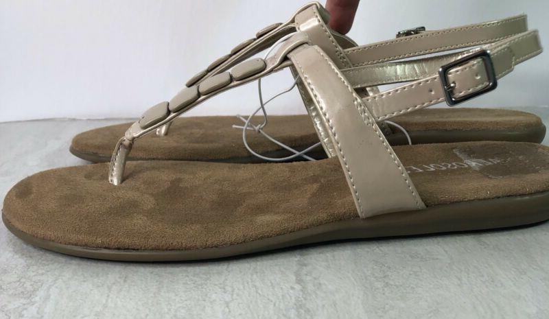 Aerosoles Chloud Champaign Strap Sandals Shoes 8
