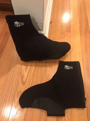 cycling neoprene shoe covers black xs all