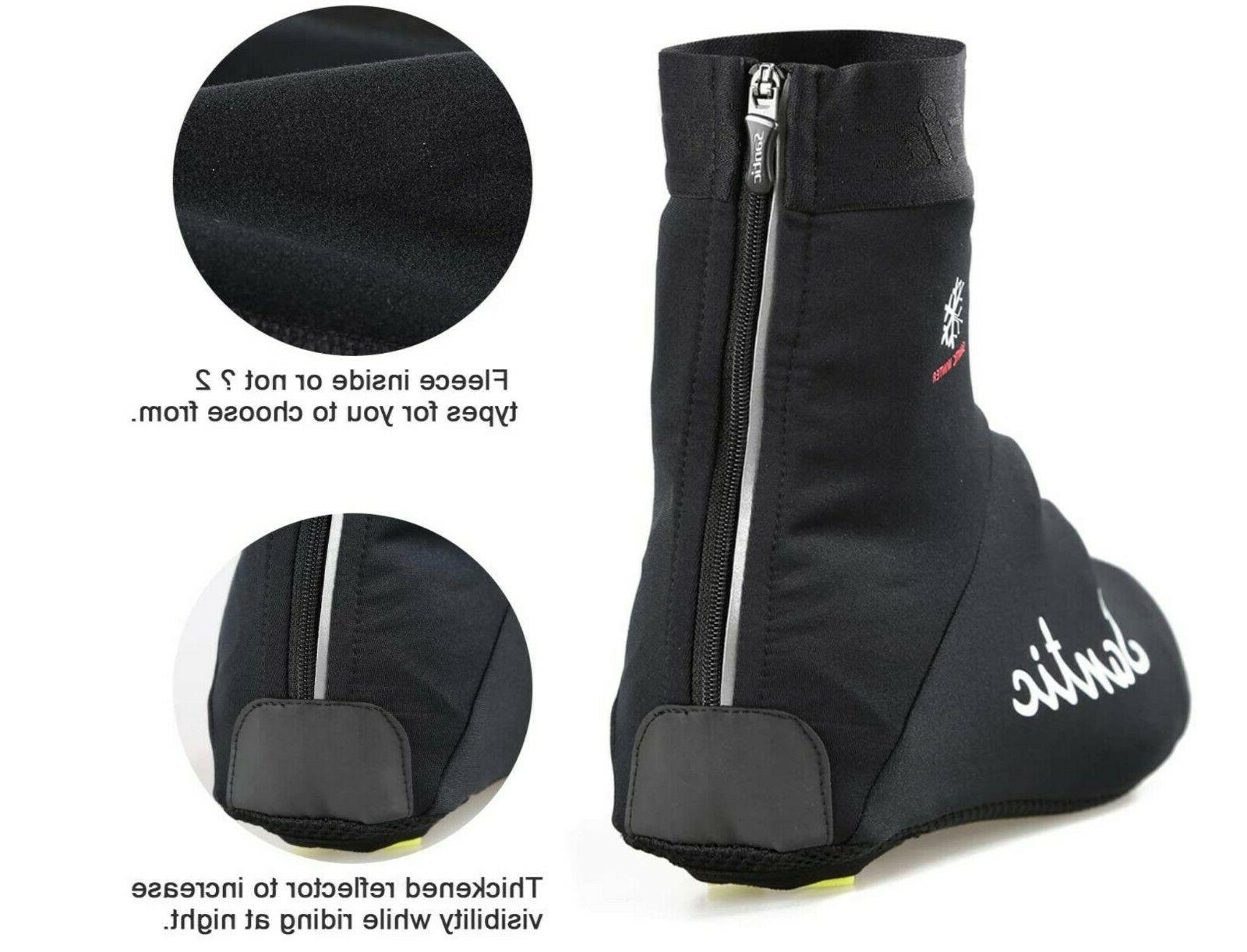 Santic Cycling for Cycling Overshoes Windproof Thermal