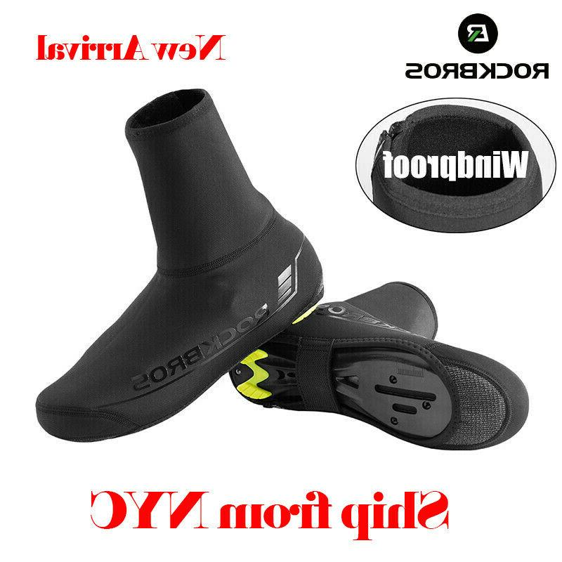 cycling shoes cover winter warm windproof protector