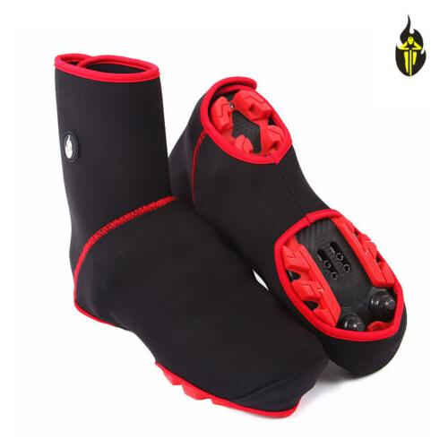 cycling sport shoe covers winter windproof bicycle