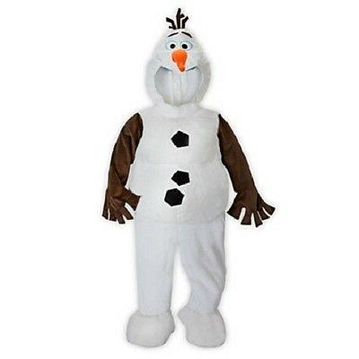 deluxe olaf costume gloves hooded head shoe