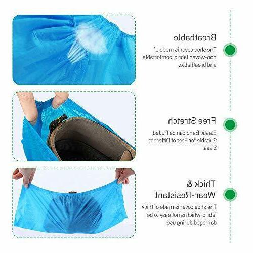 Squish Disposable Shoe 100PCS Boot Waterproof