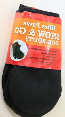 Ultra Paws Extreme 4 Dog Boots Shoe Covers Booties Black Siz