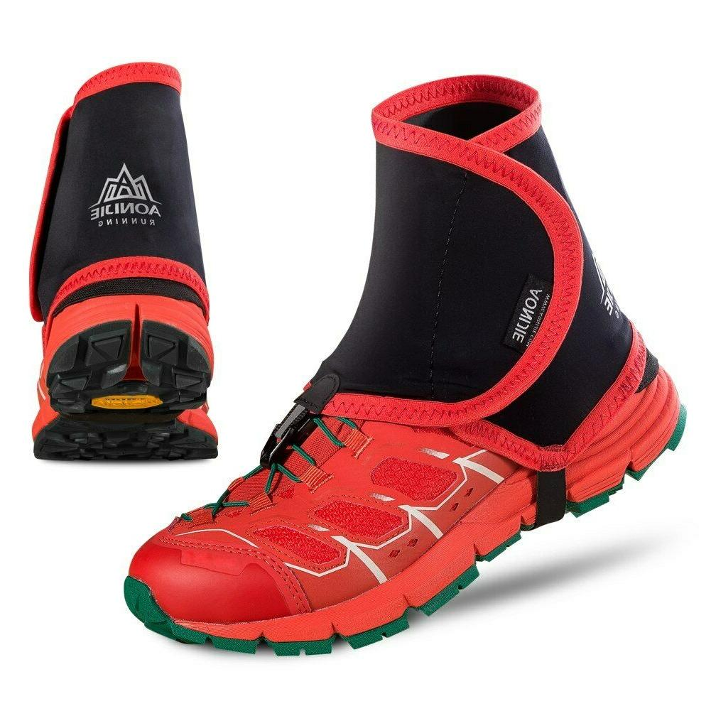 high trail gaiters protective sandproof shoe covers