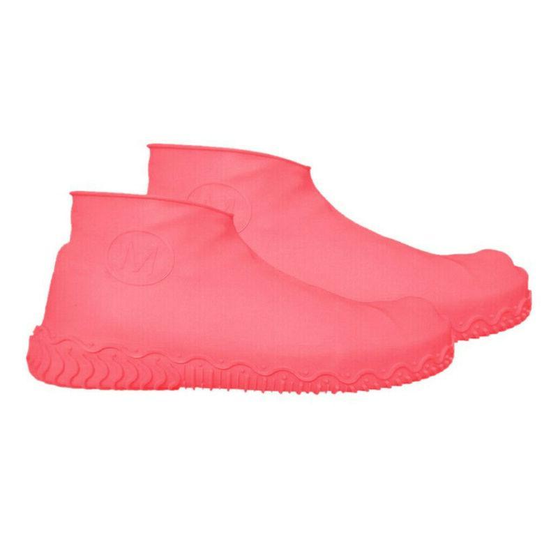 Hot Reusable Latex Shoe Boot Overshoes