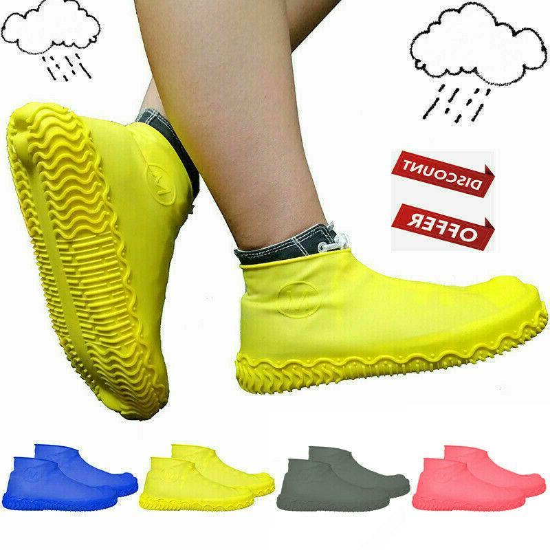 hot anti slip reusable latex shoe covers