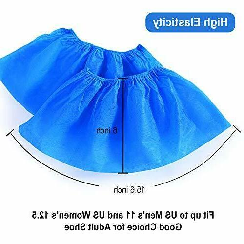 JEISSLIA Disposable Covers 100PCS Non-Slip Waterproof